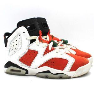 Nike Air Jordan Retro 6 Gatorade GS size 4Y Orange